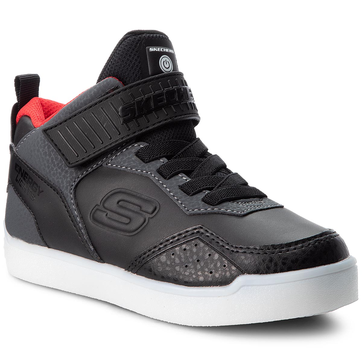 Sneakers SKECHERS - Merrox 90613L/BKRD Black/Red