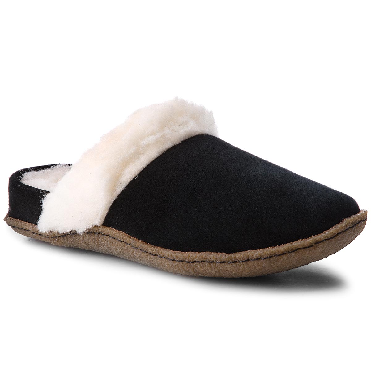Pantuflas SOREL - Nakiska Slide II NL3082 Black/Natural 010
