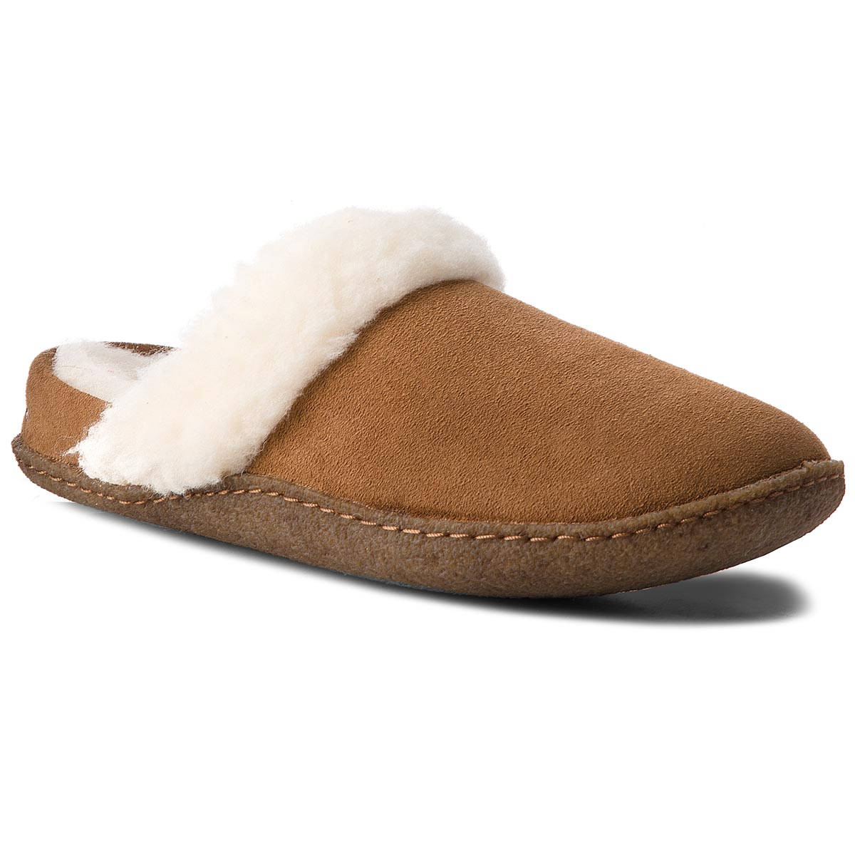 Pantuflas SOREL - Nakiska Slide II NL3082 Camel Brown/Natural 224