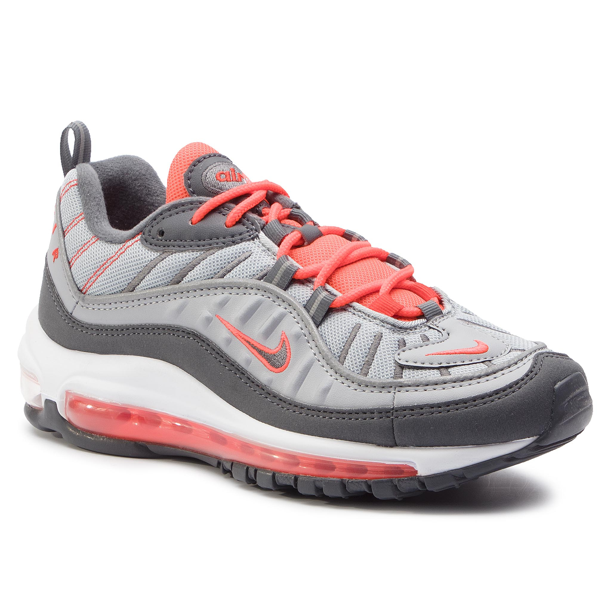 Sneaker Nike Zapatos NIKE - Air Max 98 640744 006 Wolf Grey/Dark Grey