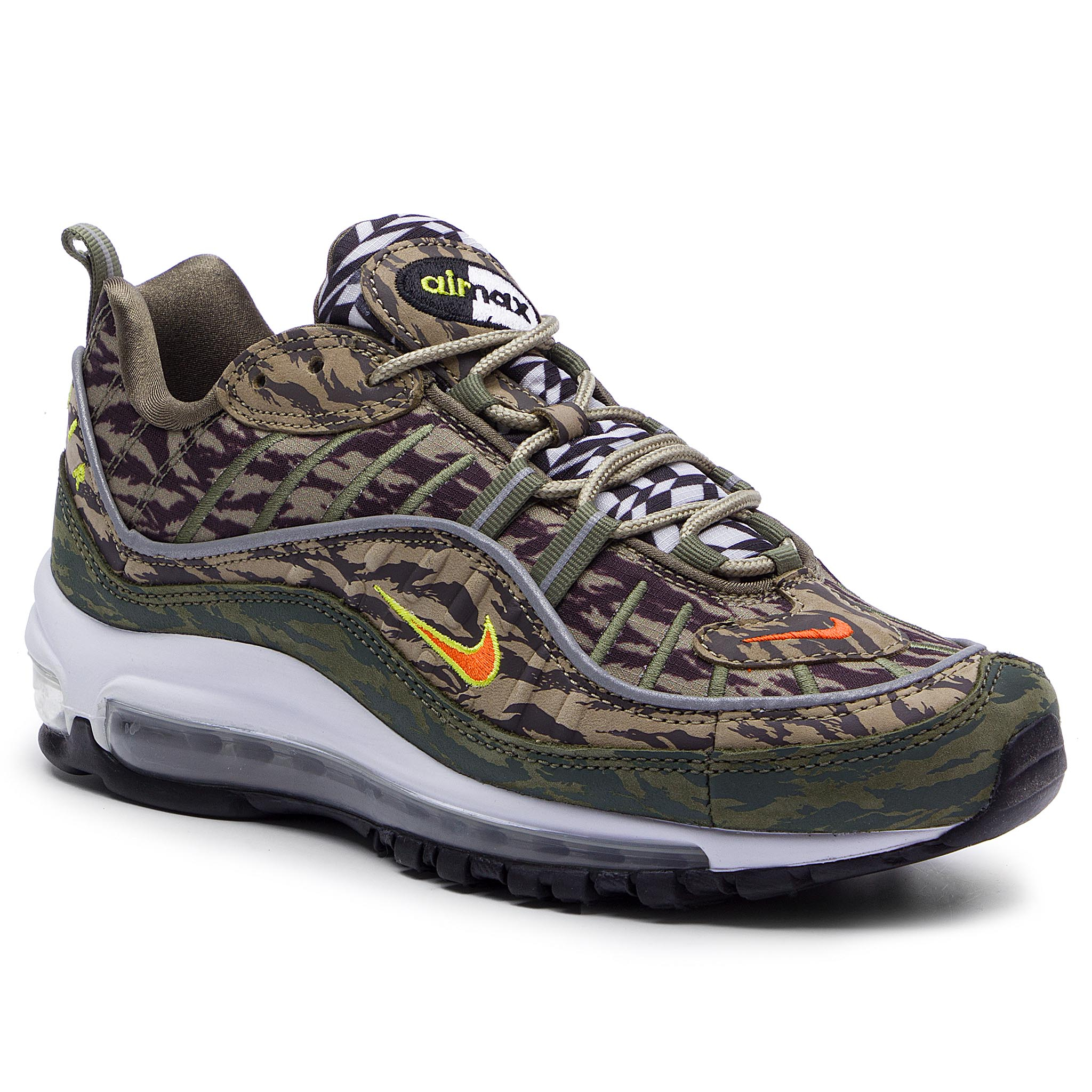 Sneaker Nike Zapatos NIKE - Air Max 98 Aop AQ4130 200 Khaki/Team Orange/Medium Olive