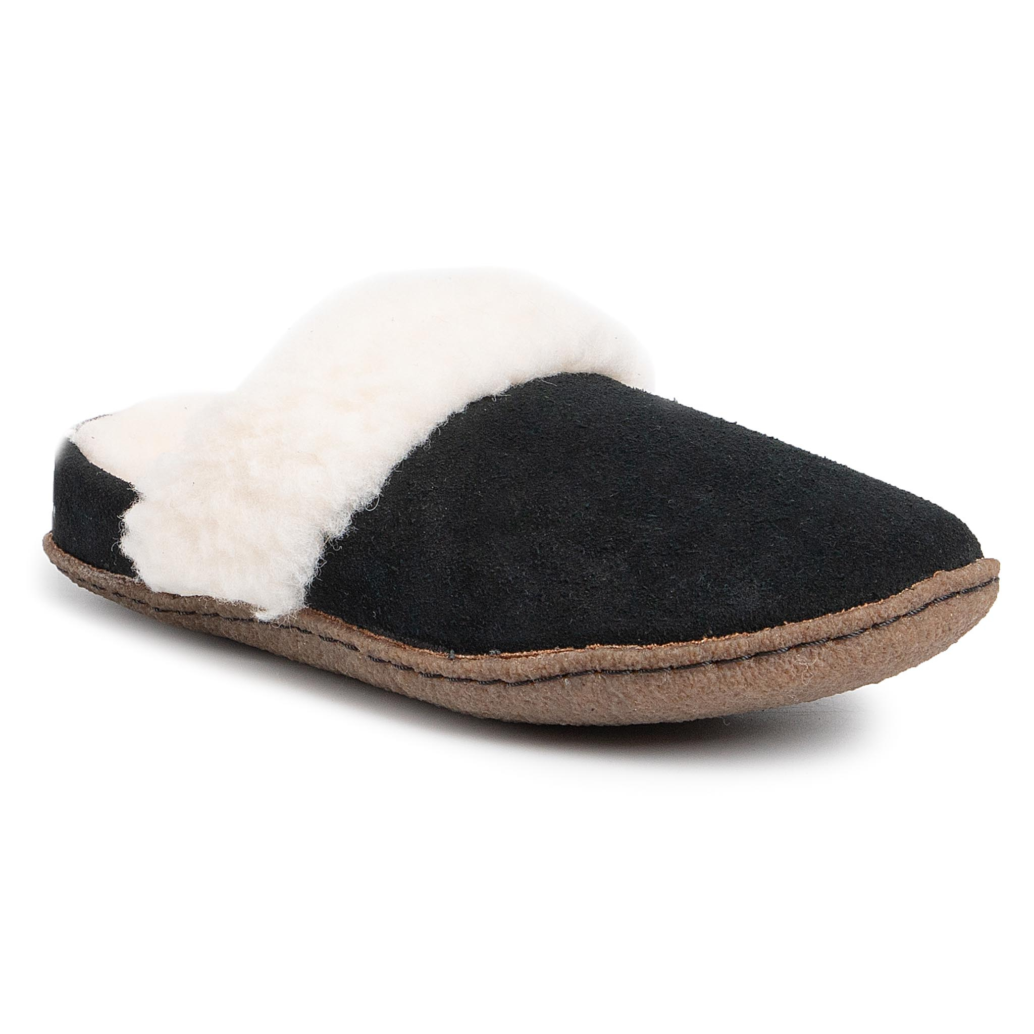 Pantuflas SOREL - Nakiska Slide II NL3655 Black/Natural 010