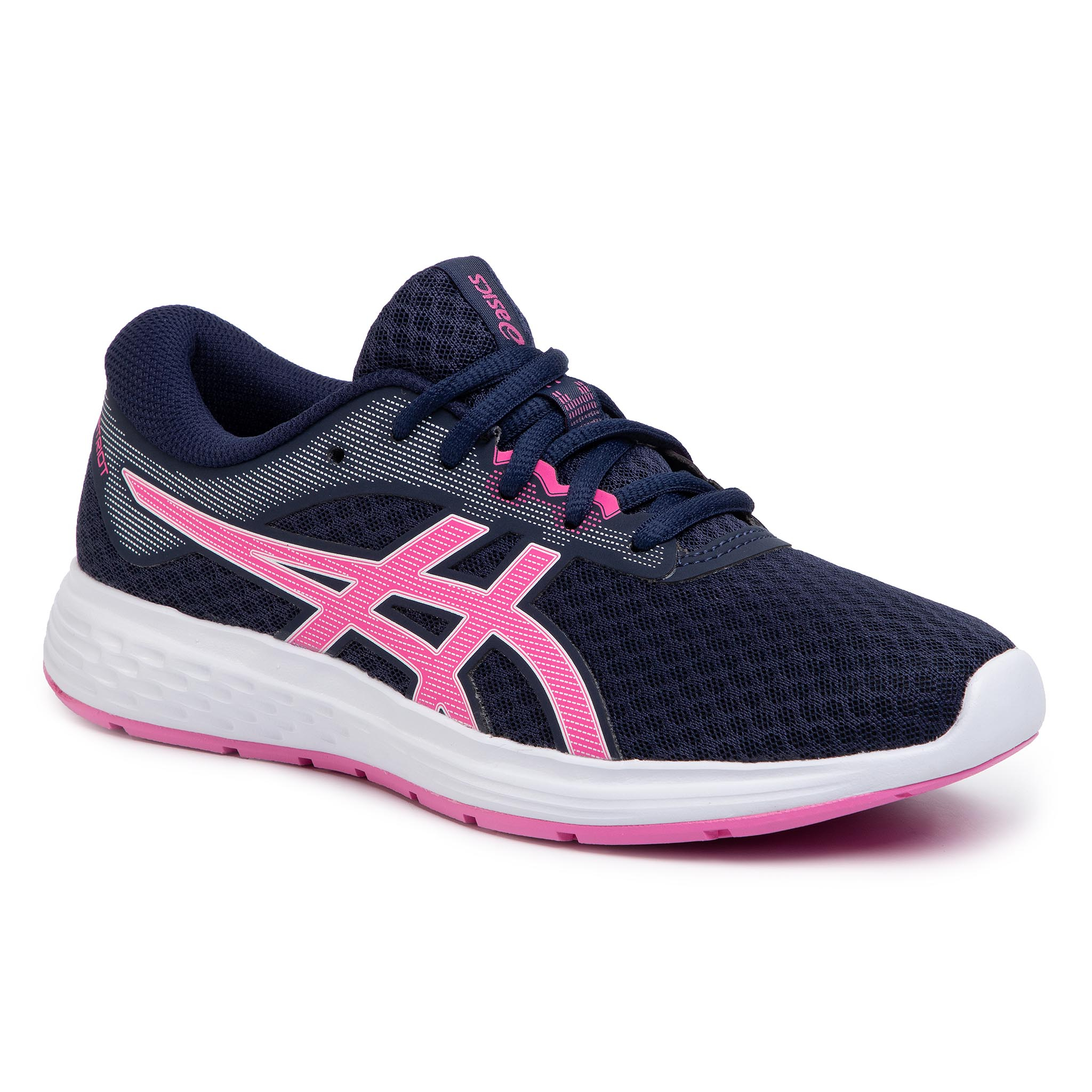 Zapatos ASICS - Patriot 11 GS 1014A070  Peacoat/Dragon Fruit 402