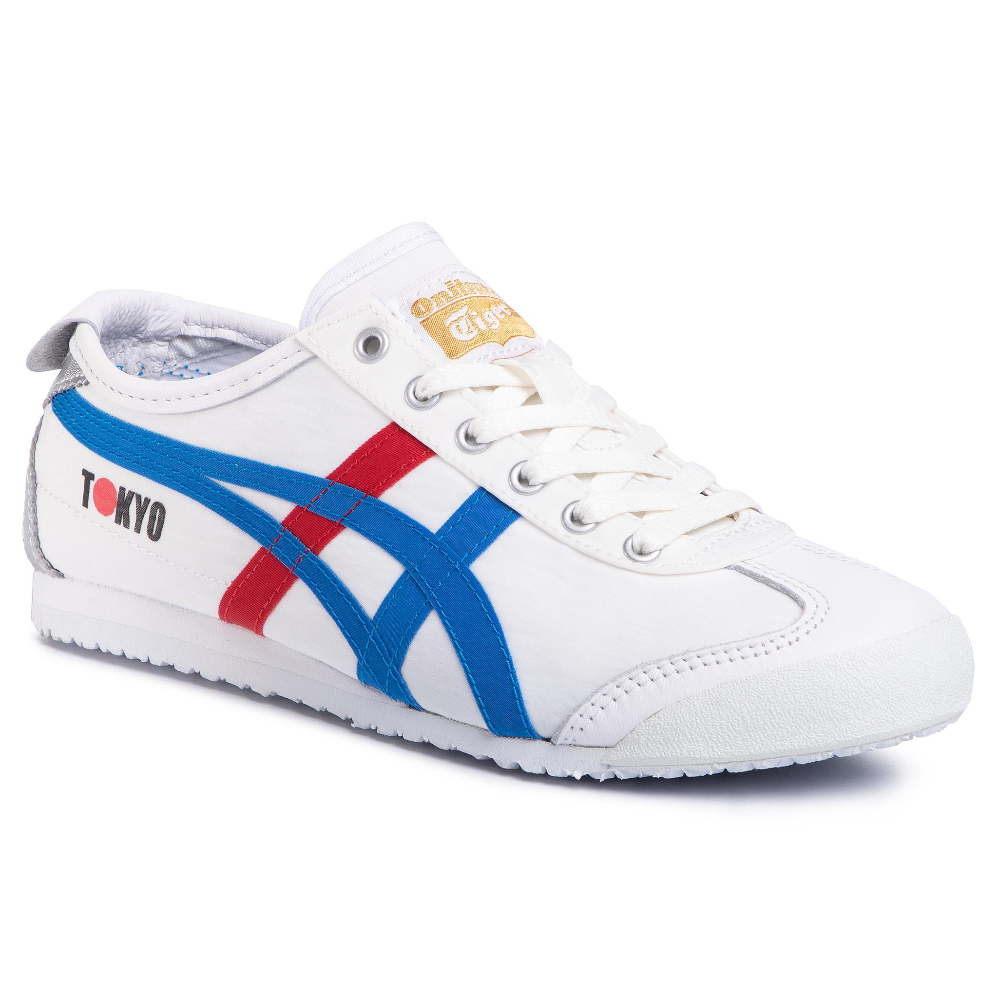 Sneaker Onitsuka Tiger Sneakers ONITSUKA TIGER - Mexico 66 1183A730 White/Directoire Blue 100