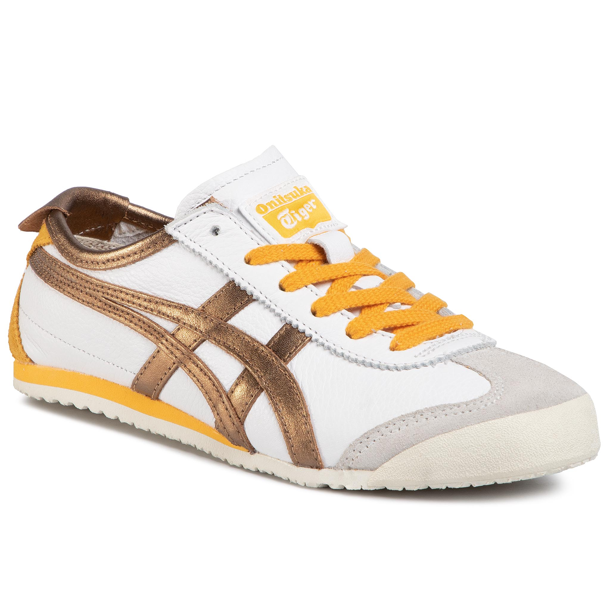 Sneaker Onitsuka Tiger Sneakers ONITSUKA TIGER - Mexico 66 1183A788 White/Pure Bronze 100