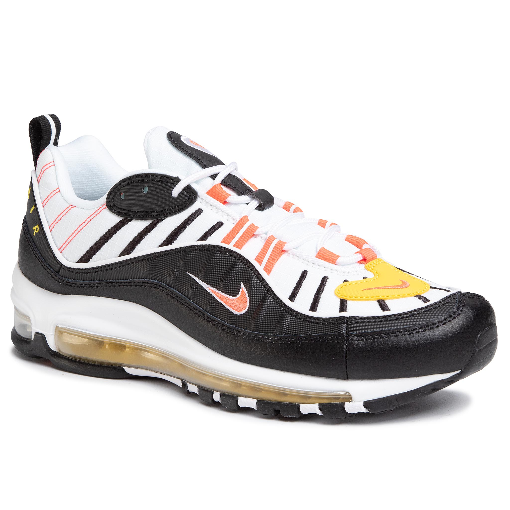 Sneaker Nike Zapatos NIKE - Air Max 98 640744 016 Black/Bright Crimson/White