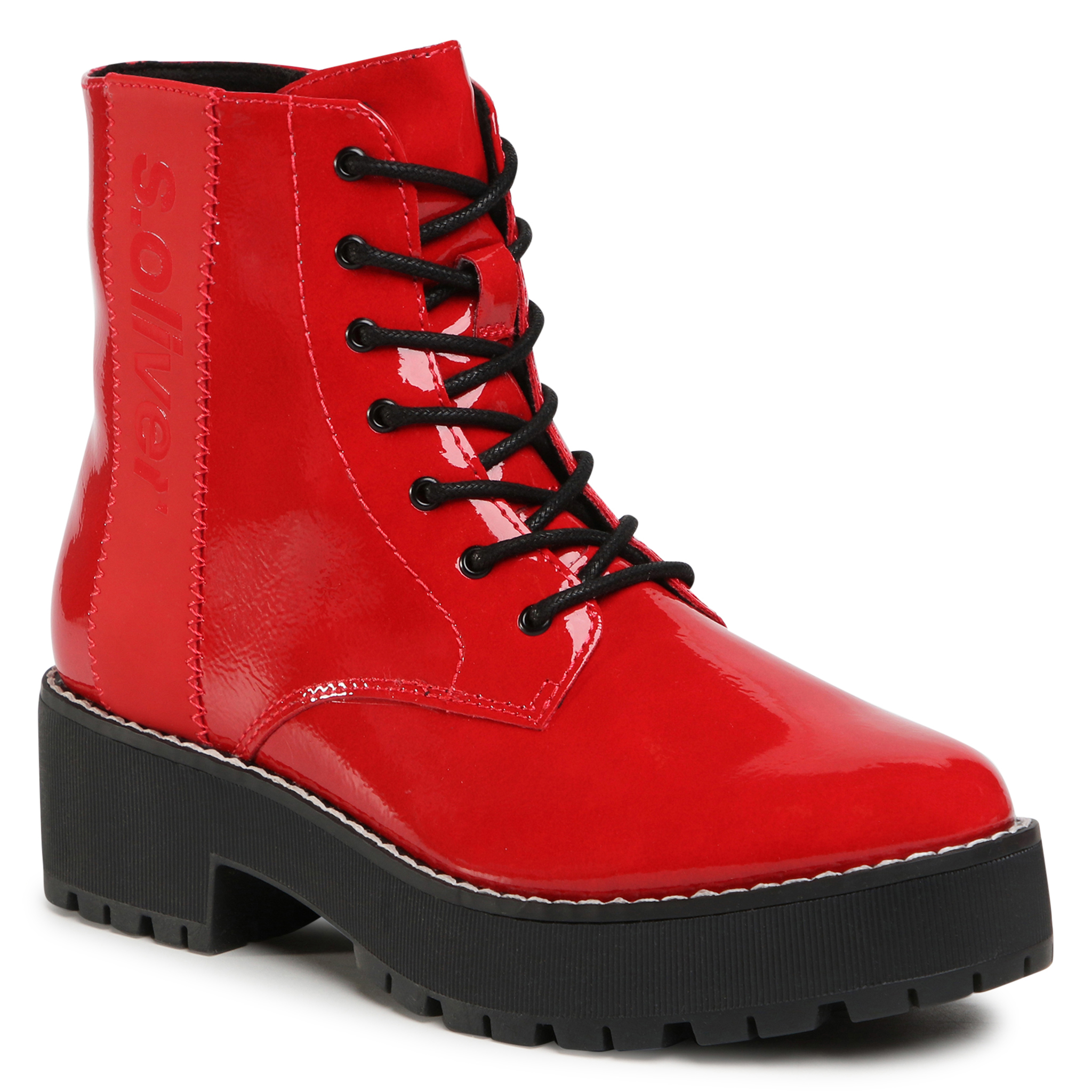 Botines S.OLIVER - 5-25221-25 Red Patent 504