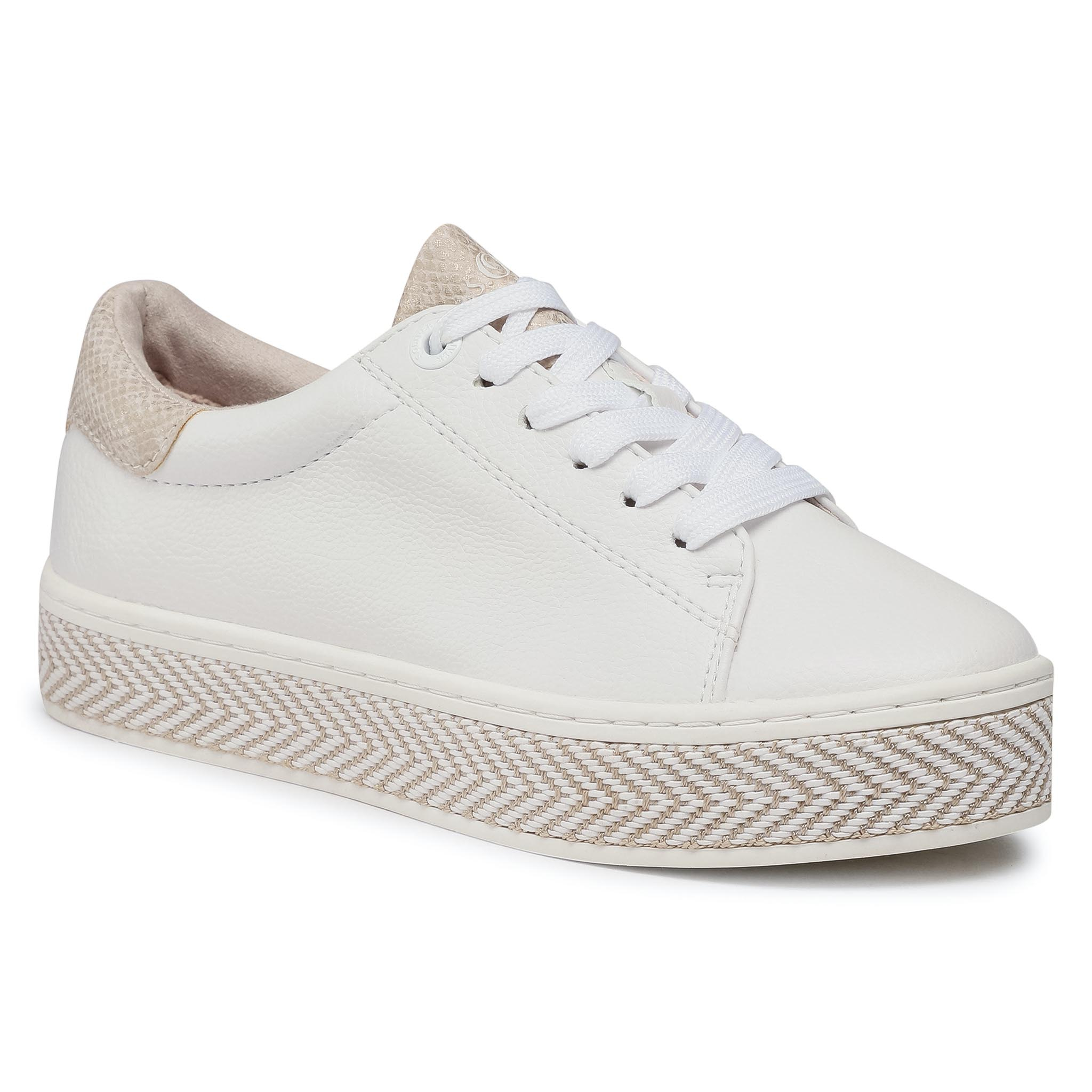 Sneakers S.OLIVER - 5-23637-26 White Comb. 110