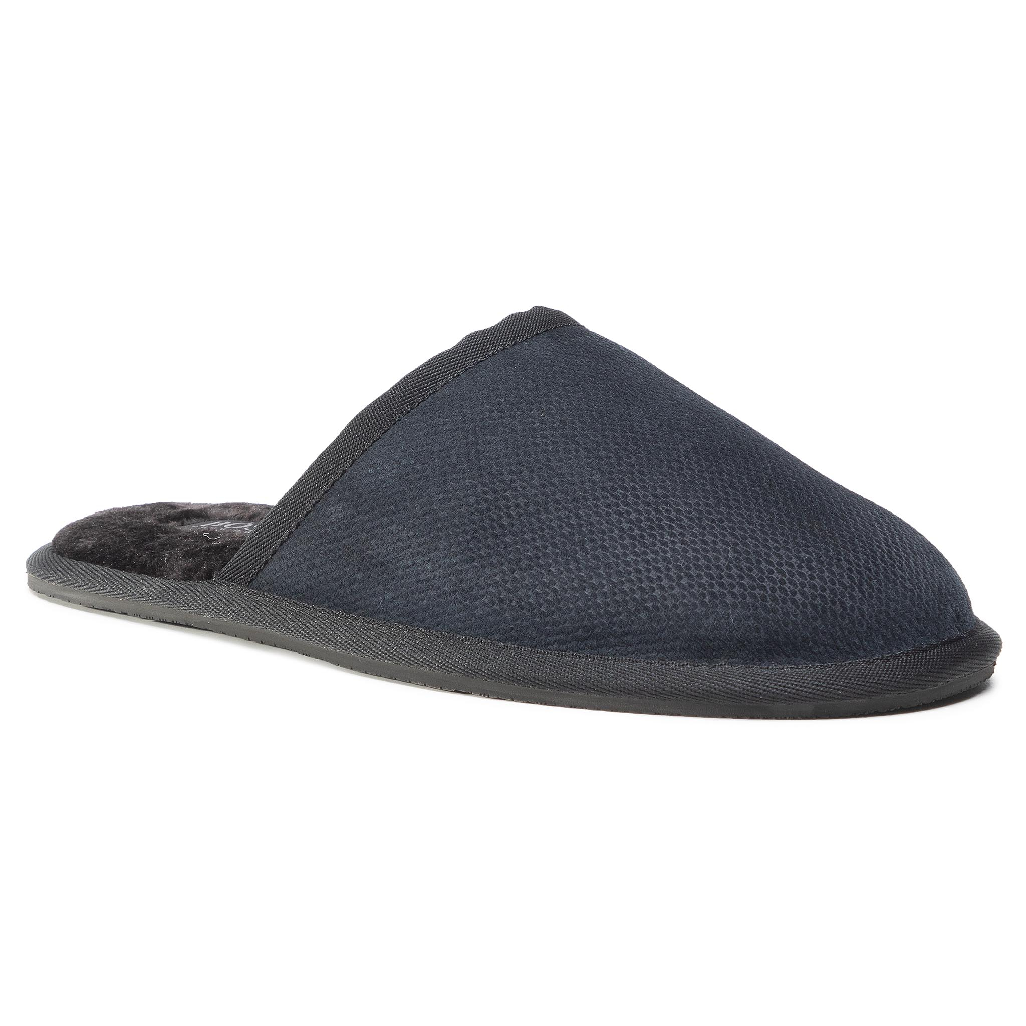 Pantuflas BOSS - Home 50445700 10232567 01 Dark Blue 401