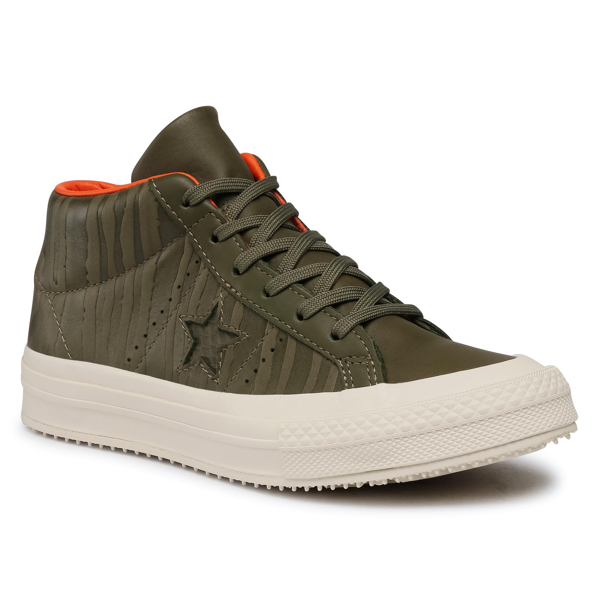 Sneakers CONVERSE - One Star Counter Climate Mid 158836C  Medium Olive/Black