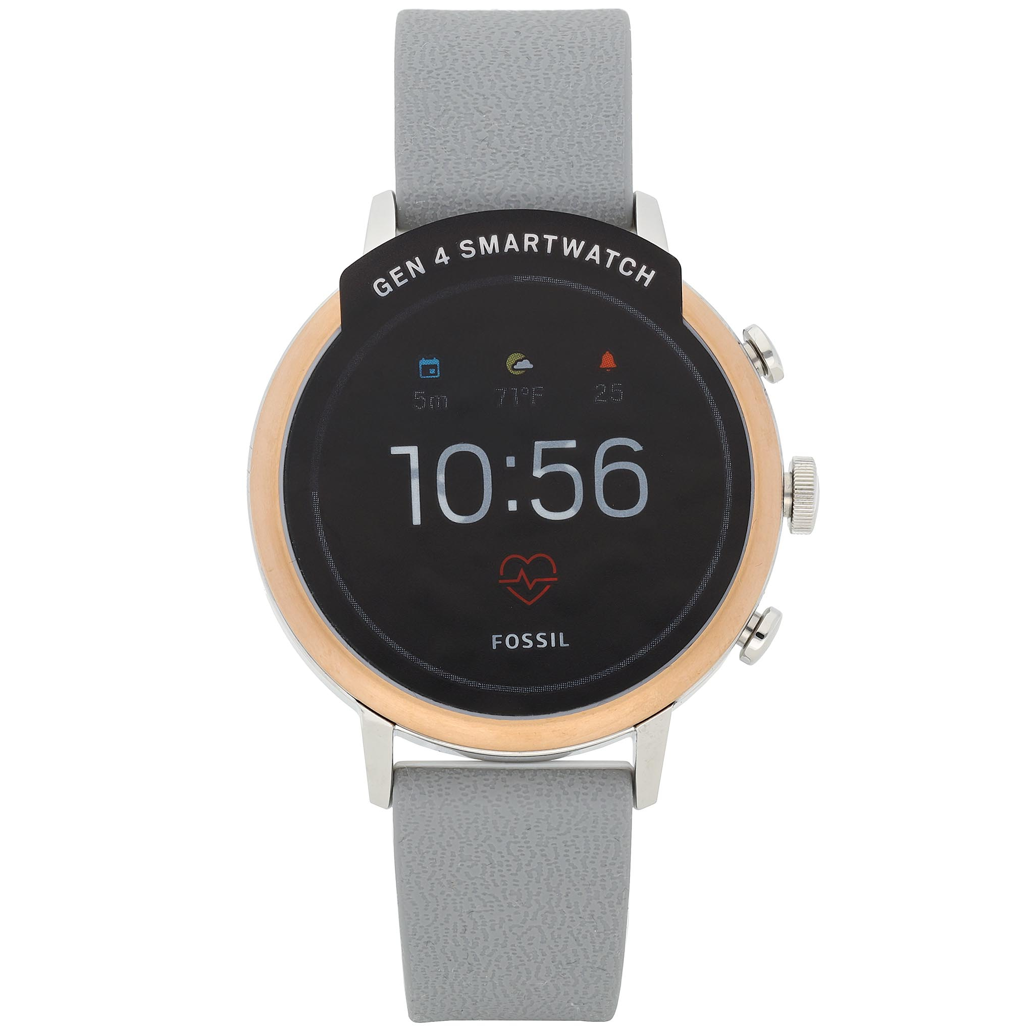Smartwatch FOSSIL - Venture HR FTW6016 Grey/Gold