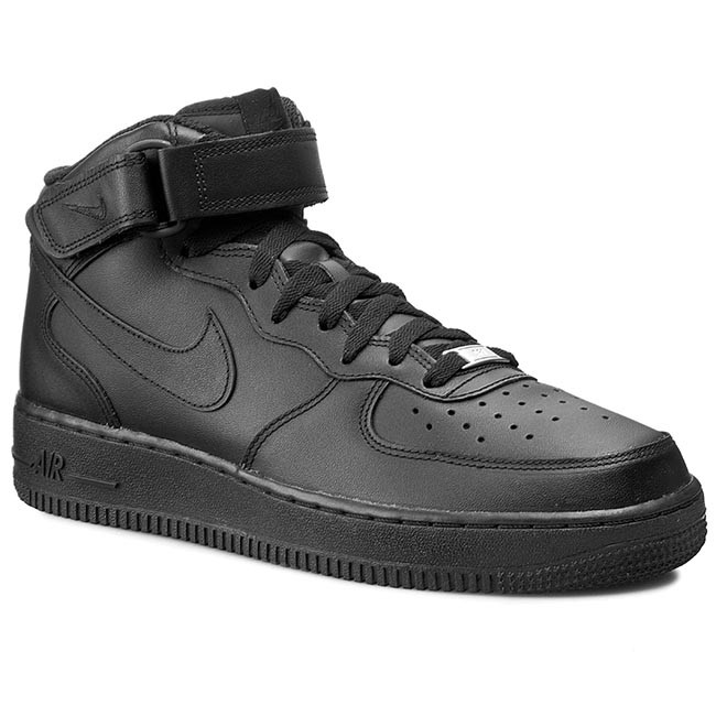 the best attitude 0f80b 88e29 Zapatos NIKE - Air Force 1 Mid  07 315123 001 Black