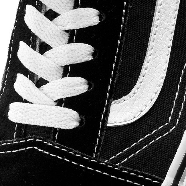 Old white Skool Black Vans Tenis Vn000d3hy28 WIEDH2Y9