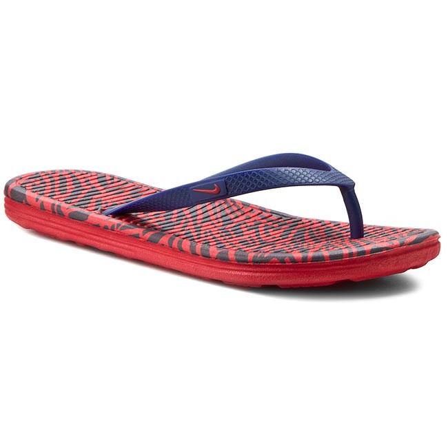 Chanclas Solarsoft 646 Thong 553486 Red Nike Print 2 University wHnvqOTwUx