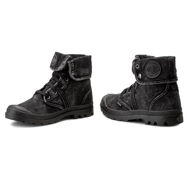 Pallabrouse Montaña Botas 069 De metal 02478 Black Palladium m Baggy 3jc4Rq5ALS