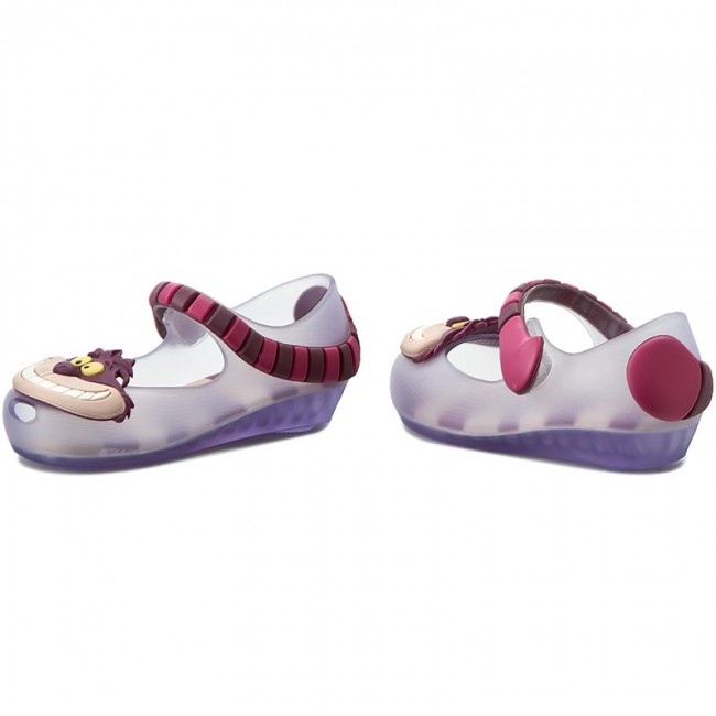 Zapatos MELISSA - Mini Melissa Ultragirl+Alice 31874 Clear Purple 51332 01d3e3a7a316