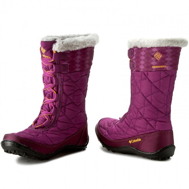 d9e53fa83 Botas de nieve COLUMBIA - Youth Minx Mid II Waterproof Omni-Heat BY1336  Intense Violet