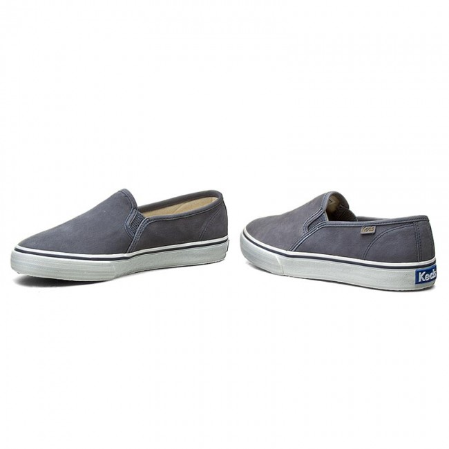 Leather Keds Tenis Navy Decker Double Wh54677 PXTkiOZu