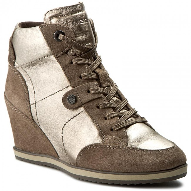 fd1d8200ea Sneakers GEOX - D Illusion A D4454A 0KY22 CB5Q6 Champagne/Taupe ...