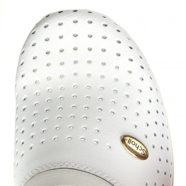 410 Chanclas Back White Guard Scholl Clog 1065 F20175 WHIED29