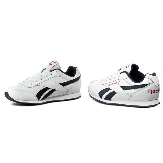 Reebok V70490 Wht 2 Cljog Royal Zapatos navy red H92EDIWY