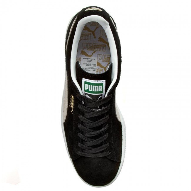 white Puma Sneakers Suede 03 Classic352634 Black fYy7g6vb