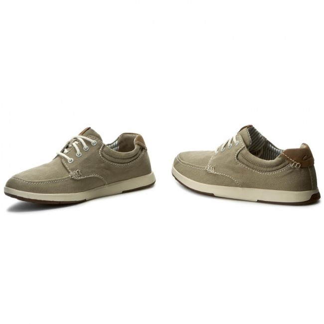 Zapatos CLARKS Norwin Vibe 261245847 Taupe