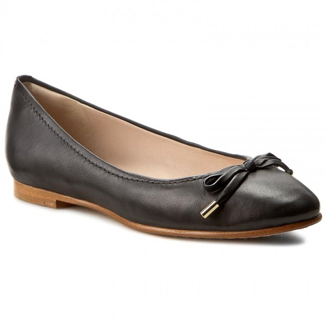 Bailarinas CLARKS - Grace Lily 261230524 Black Leather - Ballerinas - Zapatos - Zapatos de mujer   Zapatos de mujer baratos zapatos de mujer