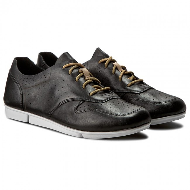 Zapatos CLARKS Tri Actor 261237994 Black Leather