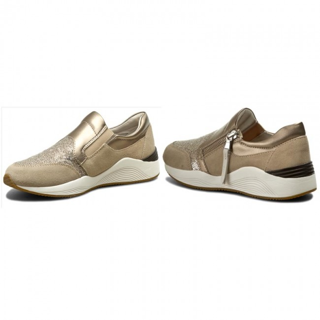 Geox Geox Geox Spring Summer  Zapatillas GEOX - D Omaya A D620SA 022AY C6738 Lt Taupe - Zapatillas - Zapatos de mujer 626c7d