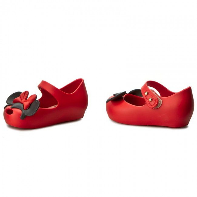 Zapatos MELISSA - Mini Melissa Ultragirl+Disney 31945 Red Black 50924 6864120fb06d