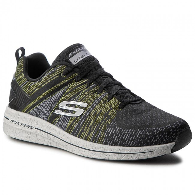 Zapatos SKECHERS - In The Mix II 52615 BKLM Black Lime - Zapatos de ... 7b97921c59