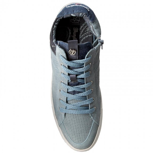 Jeans Wrangler Blue Punch Mid Ivy 384 Wf07802sp Sneakers 6gY7vbyf