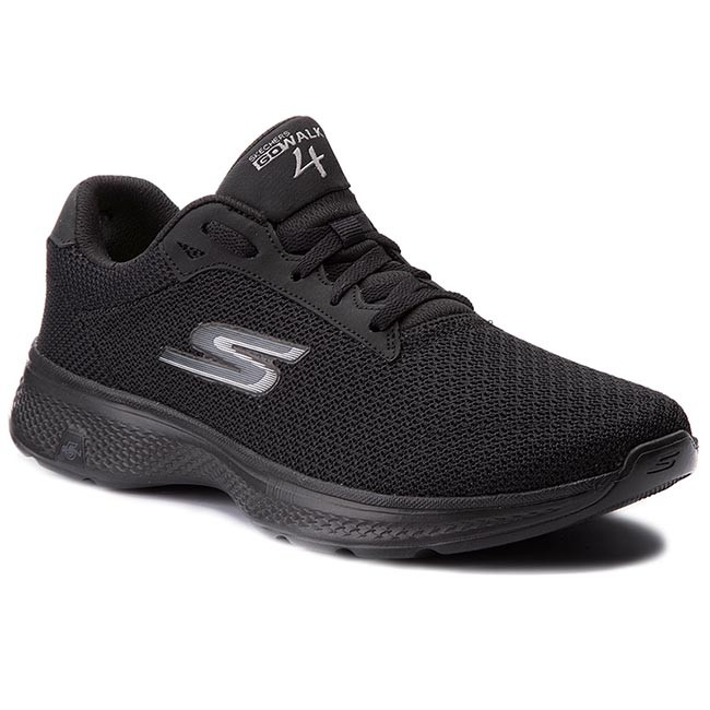ada9e83330a Zapatos SKECHERS - Go Walk 4 54156 BBK Black - Zapatos de fitness ...