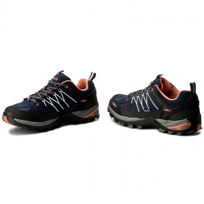 Montaña Shoes Low B Wp 3q54456 blue Trekking Botas De 92ad Cmp Wmn peach Rigel giada m8wN0n