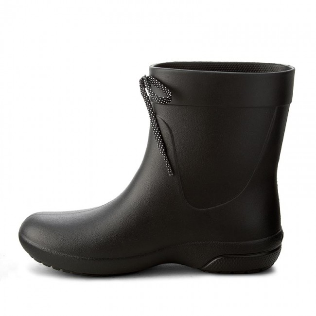 De Freesail Botas Rainboot 203851 Shorty Black Agua Crocs 5AR34qjcL