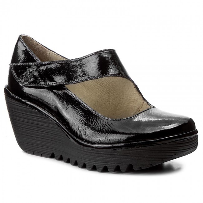 Nuevo descuento Zapatos FLY LONDON - Yasifly P500682020 Black - - Zapatos en plataforma - Black Zapatos - Zapatos de mujer b0f815