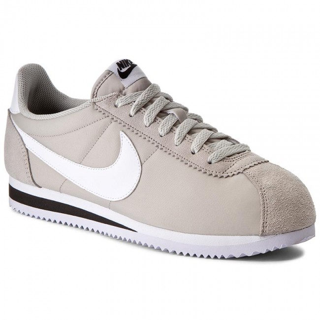 47be22691085e Zapatos NIKE - Classic Cortez Nylon 807472 006 Pale Grey White Black ...