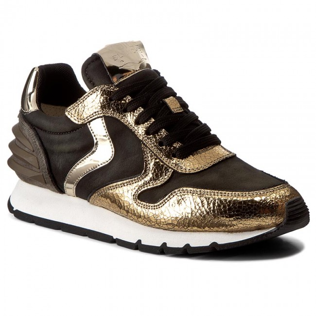 0012011744 9106 Voile militare Blanche Sneakers Oro Power 01 Julia 2YWEDH9beI