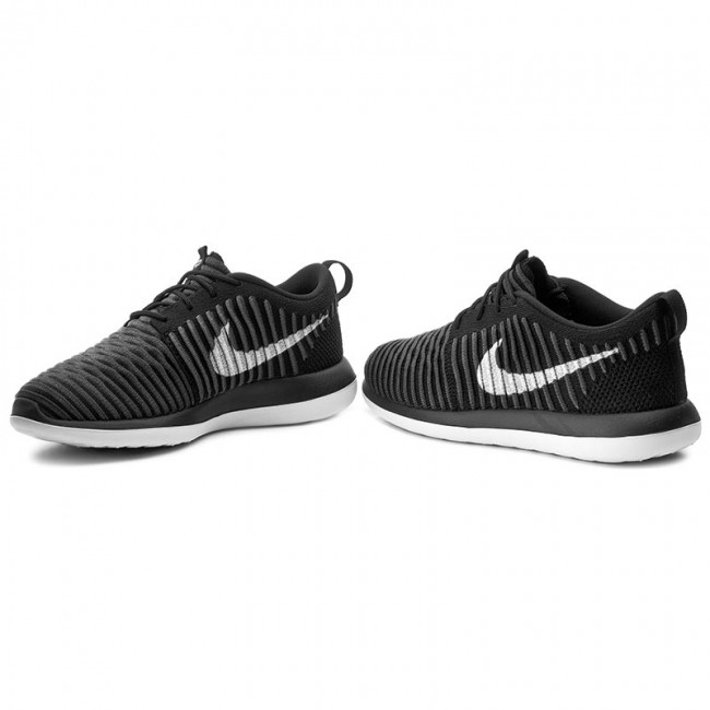 Two anthracite drk 001 Nike Roshe Flyknitgs844619 Black white Gry Zapatos 6gybvIYf7