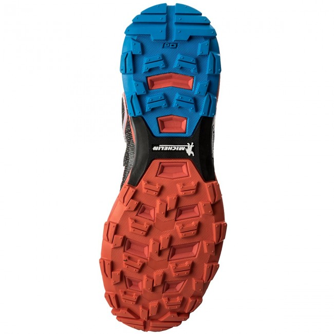Zapatos Zapatos electric Rush De Orange Mig1364 es Hombre Blue Botas 8532 Montaña MilletLight LVGUpqzSM