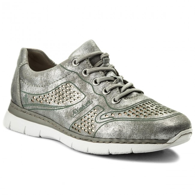 d925a539 Sneakers RIEKER - M5228-90 Silver/Platinum - Sneakers - Zapatos ...