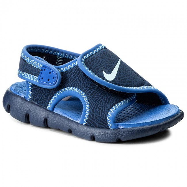 buy online 67cfc 238be Sandalias NIKE - Sunray Adjust 4 (TD) 386519 413 Binary Blue Still Blue