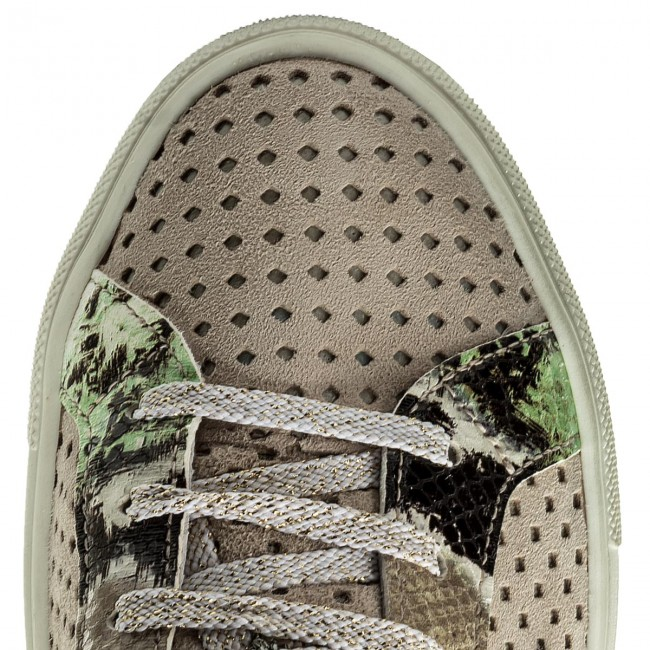 1829386a New Italia 2 Shoes Beige Sneakers SVMpUz