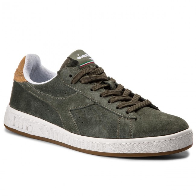 171832 Game Olivine sand 01 Diadora Low 501 Sneakers S C7381 v80Nnmw
