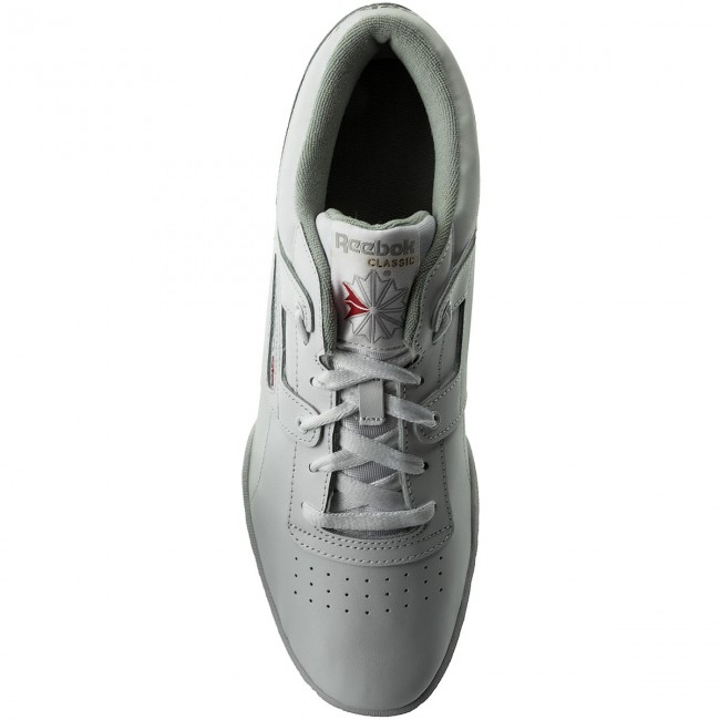 Low Cn0636 Int Reebok White Workout Zapatos grey 5L3jcA4Rq