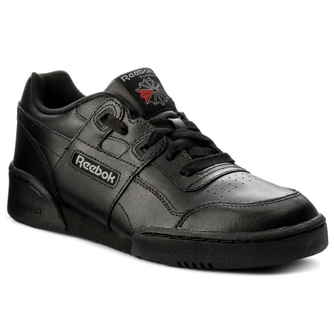 Zapatos Reebok - Workout Plus CN1825 Black/Charcoal/Primal Red - Zapatillas - Zapatos - Zapatos de mujer