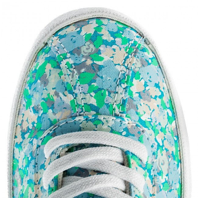 Cyan white 555952c Converse Ox Fresh Breakpoint Sneakers barely Orange gyvbf6Y7