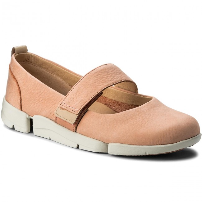 Tri Clarks Nubuck Zapatos Carrie 261312704 Pink D9H2IWEY
