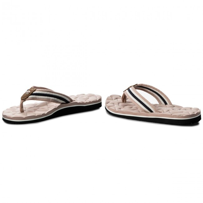 502 Sandal Chanclas Hilfiger Fw0fw02368 Dusty Comfort Beach Low Rose Tommy Fc3KJT15ul